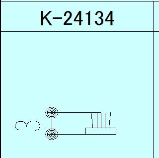 モヘア 3.7×3.0 YKK K24134 【ネコポス可】