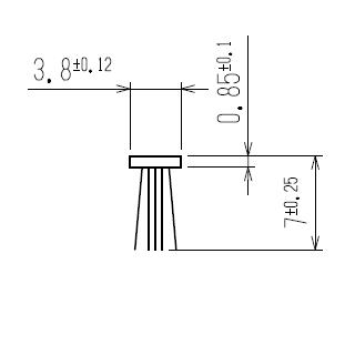 モヘア 3.8×7.0 YKK K24751 【ネコポス可】