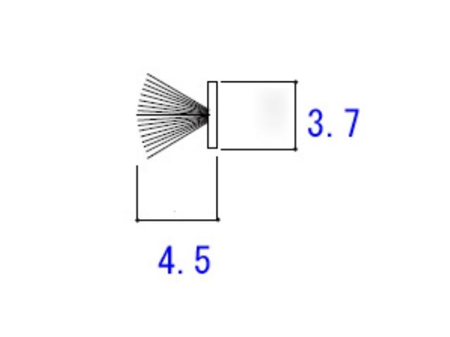 モヘア 3.7×4.5 YKK K25868 【ネコポス可】