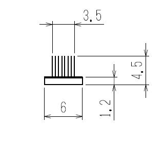 モヘア6.0×4.5 YKK K6401A 【ネコポス可】