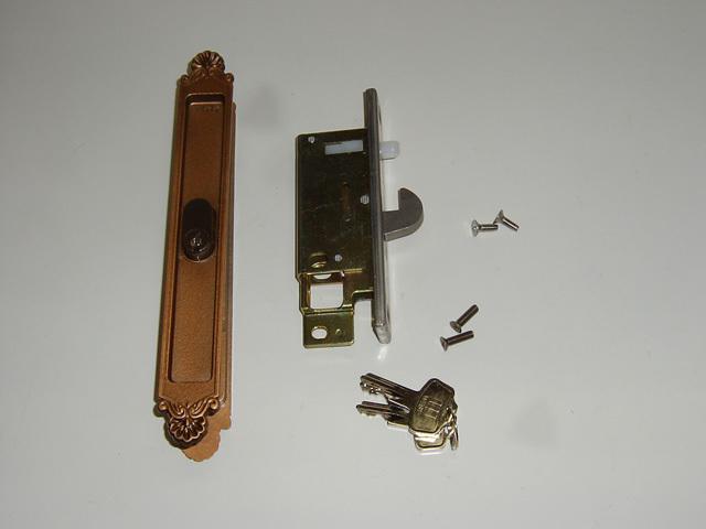 YKK 玄関引戸錠 80・120型用 HHJ0404