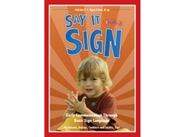 SAY IT WITH A SIGN