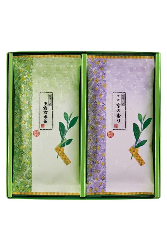 F-10 京の香り(煎茶) 100g/玉露玄米茶 100g
