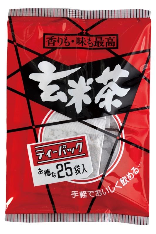 玄米茶ティーパック 4g×25袋入り