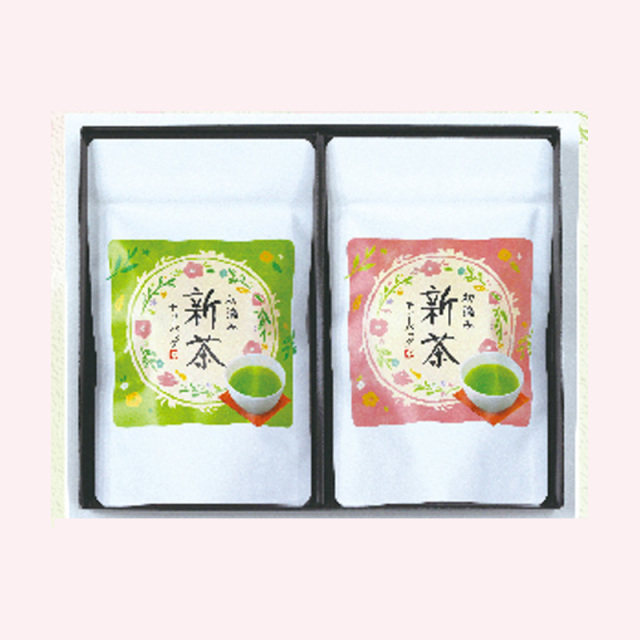 SH-3宇治新茶ティーバッグセット(箱入)