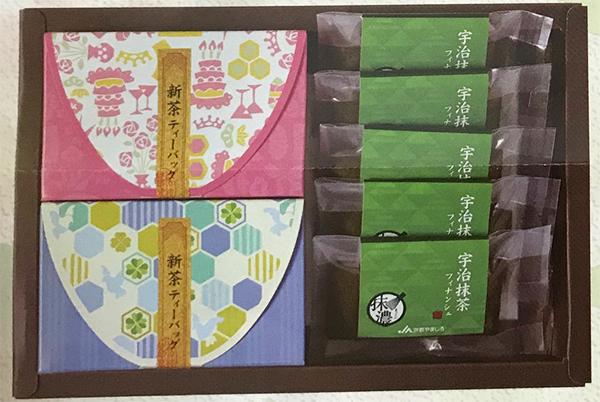SH-4宇治新茶ティーバッグ・宇治抹茶フィナンシェセット