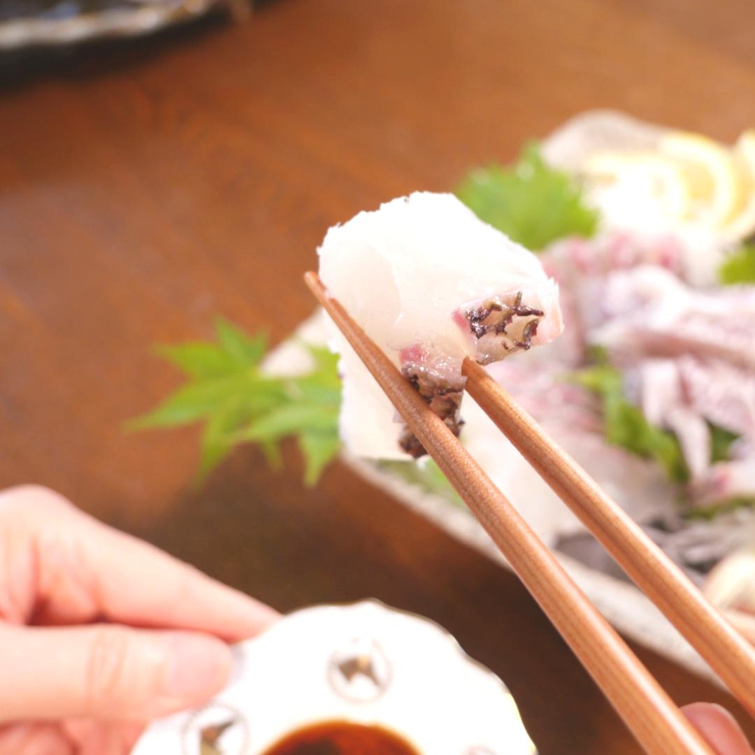 宮崎県産真鯛湯引き