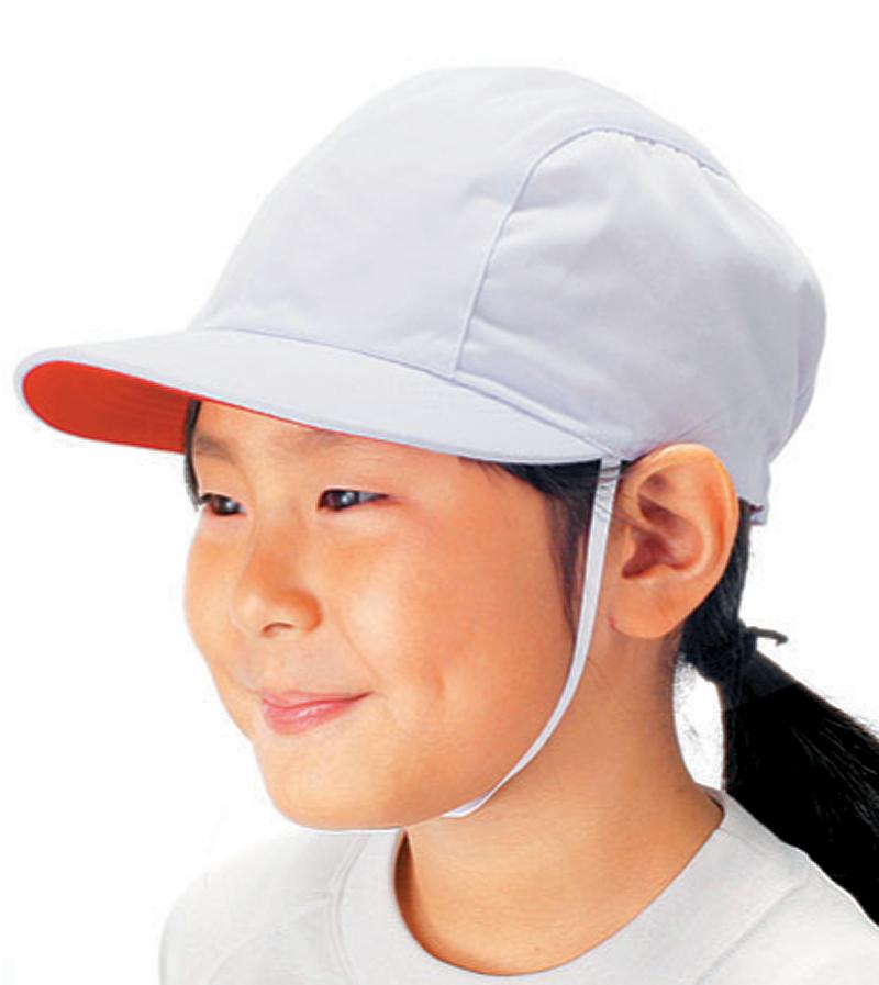 【メール便発送可(送料200円)】体操帽子 ドリブル(4枚はぎ) M・Lサイズ