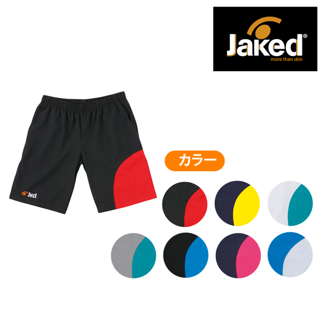 【Jaked】2016SS J005 ウォームアップハーフパンツ 830122 130-3L