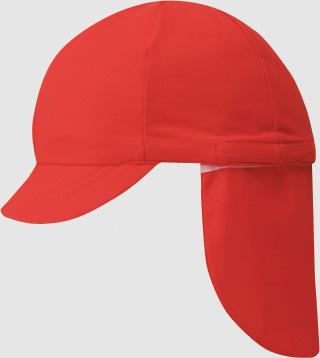 FOOTMARK フラップ付き体操帽子(取り外しタイプ)LL 101215
