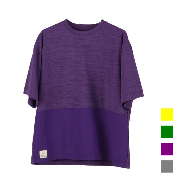 【5/6-10発送】FOOTMARK NATURAL メンズ半袖プルオーバーTシャツ 245215