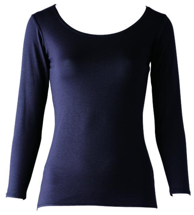 FOOTMARK あったかインナーHot SHIRTS(ホットシャツ)クルーネック9分袖 403570