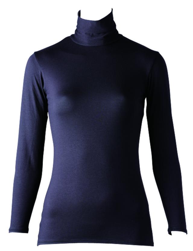FOOTMARK あったかインナーHot SHIRTS(ホットシャツ)ハイネック9分袖 403571