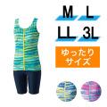 【うきうき屋】ゆったり水着 セパレーツ M〜3L 256230