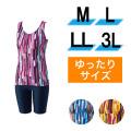 【うきうき屋】ゆったり水着 セパレーツ M〜3L 256231