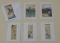 【グリーティングカード B】 短冊シリーズ全6枚セット 封筒付