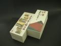【大揃い一筆箋】20冊パック 富嶽三十六景 表紙赤不二、東海道五十三次 表紙白