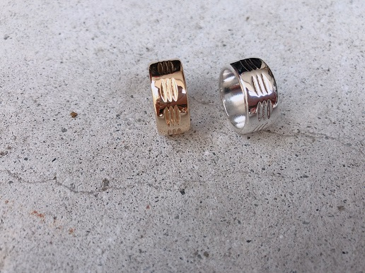 Accessory /Dig Pattern Ring(NothingAndOthers)