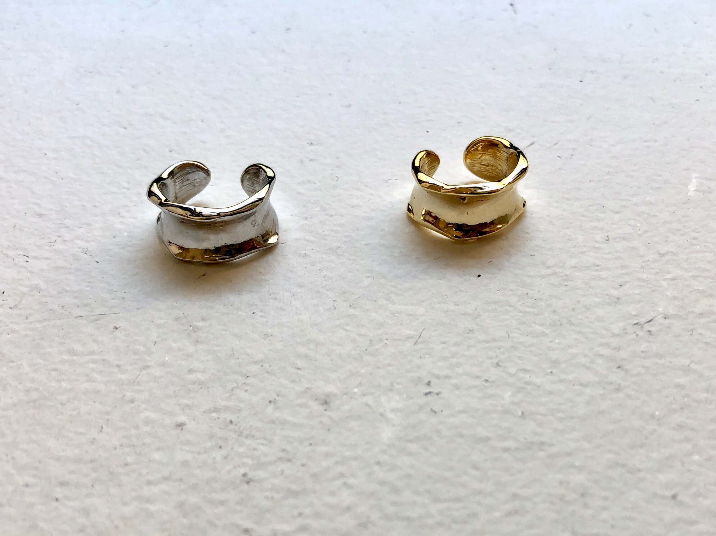 thick wide earcuff