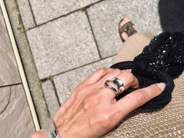 Accessory/uneven ring 【Silver925】