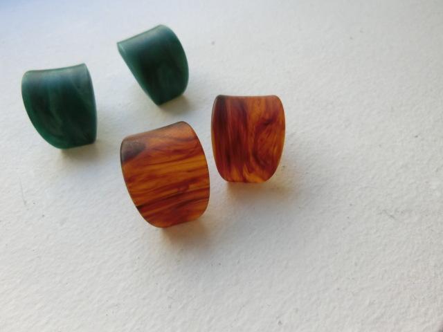 Mat marble color curve pierce