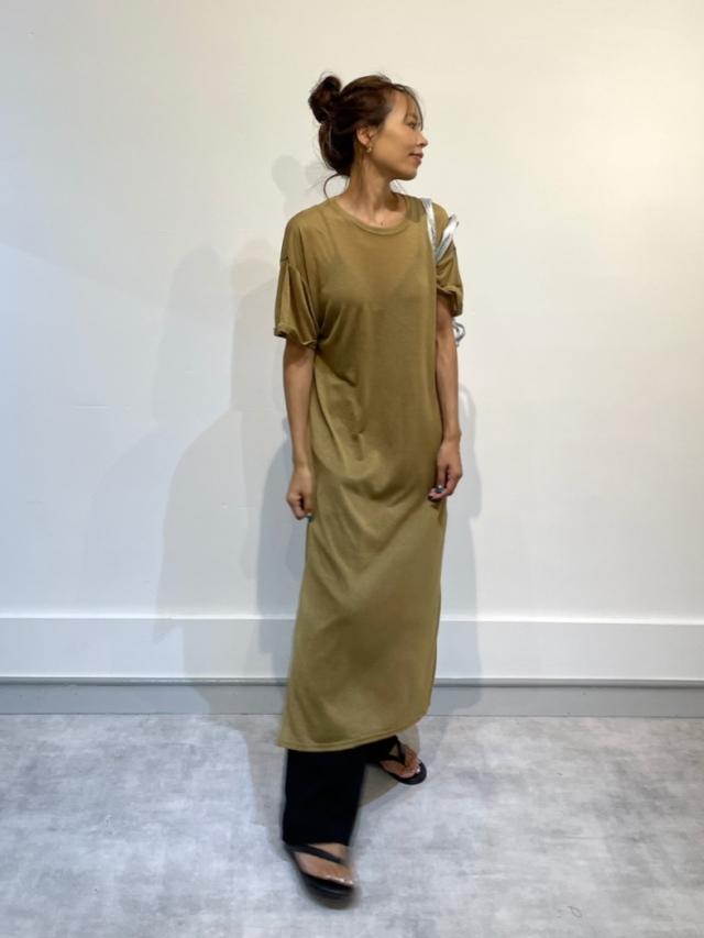Original sheersleeve dress (2color)