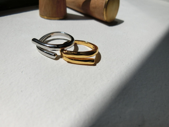 simple line ring【Silver925】