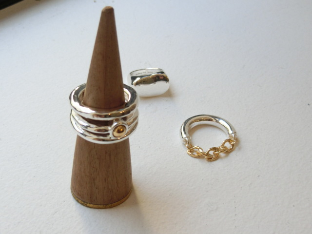 3piece Wide Ring