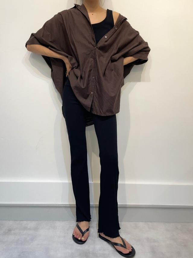 21S/S  Flare leggings riv pants (2color)