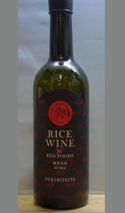 またひとつ、世界の食を極めるために技術の蔵元が醸し出す日本酒 福光屋 ITAYA RICE WINE for RED FOODS 純米生詰720ml