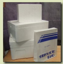 冷蔵・冷凍用各種発泡スチロール箱