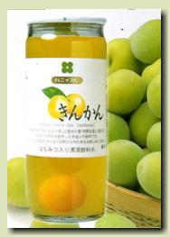 【金柑の実入りで金柑エキスの美味しさが楽しめます。】プラムハニップC(金柑味)200g×15本