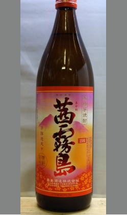 完熟柑橘系のような香りとフルーツのような甘味 宮崎 茜霧島25度900ml