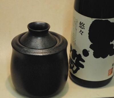 お手頃で美味しくなる燗器 黒結晶1合酒燗器 (約150ml)