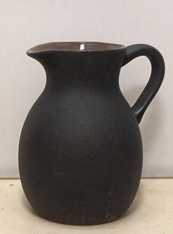 簡単レンジ徳利(黒陶)φ8×10.5cm・300CC