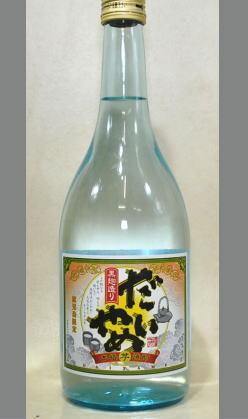 【限定入荷】たしか鹿児島限定のはず・・・深く考えないで 濱田酒造 芋焼酎 だいやめ25度720ml