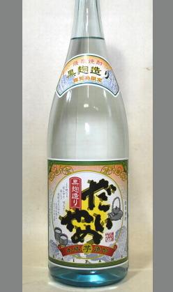【限定入荷】たしか鹿児島限定のはず・・・深く考えないで 濱田酒造 芋焼酎 だいやめ25度1800ml