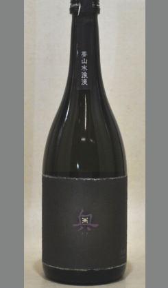 「純米吟醸原酒 夢山水十割 奥」をさらに上品で貴賓差を醸し出した「純米大吟醸 夢山水浪漫 奥」720ml