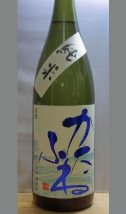 旨味と程よい酸は気取らない食中酒として 新潟 越のかたふね純米酒1800ml