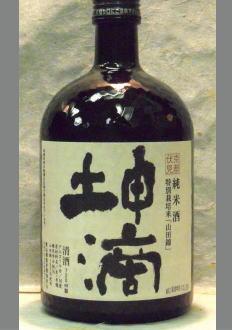 【限定流通】160キロ台のど真ん中直球勝負の純米酒 東山酒造 純米酒 坤滴 720ml