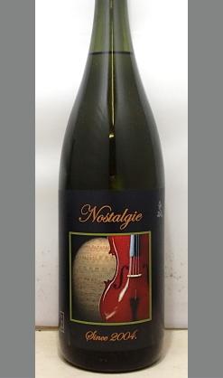 スッキリ喉越しと爽やかな後口の10年熟成大吟醸 和歌山 車坂16BY大吟醸Nostalgie (ノスタルジー) 1800ml