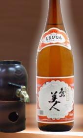 【昔ながらの鹿児島県人が愛する芋焼酎とくればこれでしょう】長島研醸 しま美人25度 1800ml