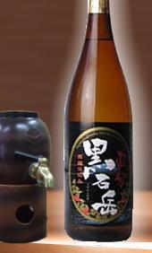 【やさしく芋のコクある味わいを感じる鹿児島県芋焼酎】国分酒造 黒石岳 25度 1800ml