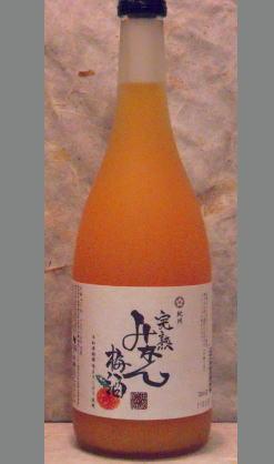 みかんゼリーに梅酒をかけているような 和歌山 中野BC 紀州 完熟みかん梅酒720ml