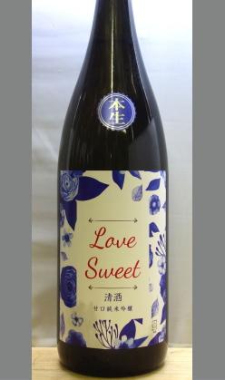 熟成あり・甘酸っぱくてフルーツのような 大阪 浪花正宗 純米吟醸LOVE SWEET(ラブスイート)1800ml