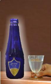 【人気の酒 爽やかに えっ!ワインじゃないの・・日本酒ですよ 長野地酒千曲錦 発泡純米酒 スパーク リ・ブァン 250ml
