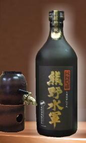 【吟醸香を楽しめる和歌山の米焼酎】熊野水軍 25度 720ml