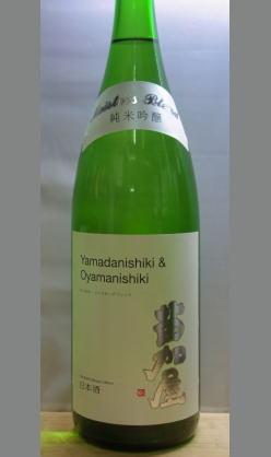お取り寄せ・雄山錦の芳醇さと山田錦のフレッシュがひとつに 富山 若鶴酒造 苗加屋純米吟醸Meisters Blend1800ml