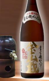 幻の黄金麹仕込みの芋焼酎 金山蔵25度 1800ml