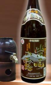 美味しんぼにも紹介された軸屋酒造 紫尾の露 甕仕込み1800ml